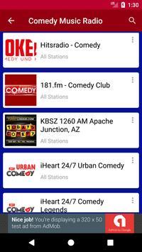 Comedy Music Radio screenshot 1