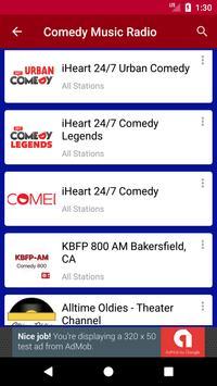Comedy Music Radio screenshot 2