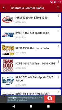California Football Radio apk screenshot