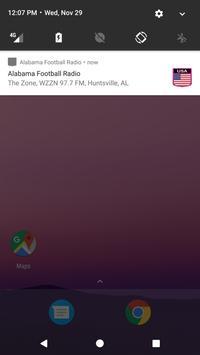 Alabama Football Radio apk screenshot