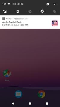 Alaska Football Radio apk screenshot