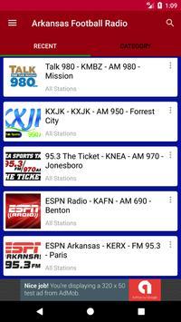 Arkansas Football Radio poster