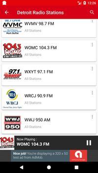 Detroit Radio Stations скриншот 2