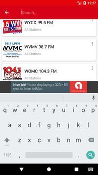 Detroit Radio Stations скриншот 4