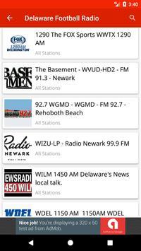 Delaware Football Radio apk screenshot