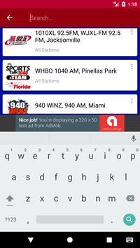 Florida Football Radio screenshot 5