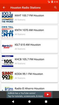 Houston Radio Stations screenshot 1