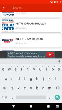 Houston Radio Stations screenshot 5