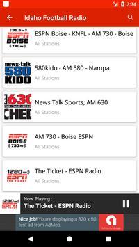 Idaho Football Radio screenshot 2