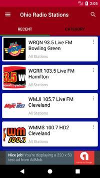 Ohio Radio Stations poster