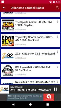 Oklahoma Football Radio screenshot 3
