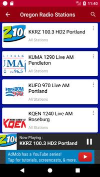 Oregon Radio Stations apk screenshot