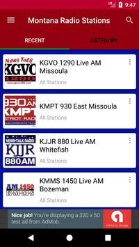 Montana Radio Stations poster