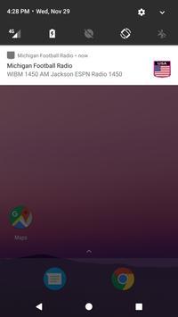 Michigan Football Radio apk screenshot