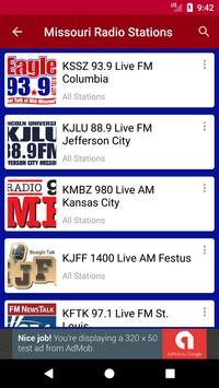Missouri Radio Stations screenshot 1