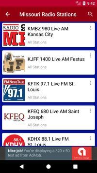 Missouri Radio Stations screenshot 2