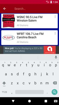 North Carolina Radio Stations apk screenshot