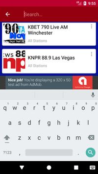 Nevada Radio Stations apk screenshot