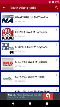 South Dakota Radio Stations screenshot 1