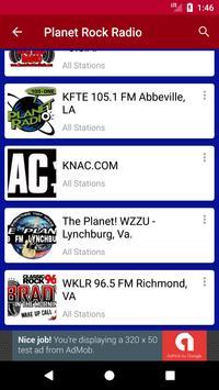 Planet Rock Radio screenshot 2