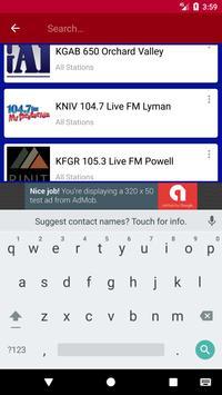 Wyoming Radio Stations screenshot 4