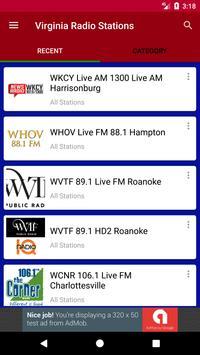 Virginia Radio Stations poster