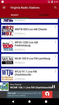 Virginia Radio Stations screenshot 2