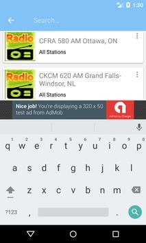 Radio AM Canada screenshot 5
