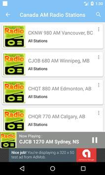 Radio AM Canada screenshot 3