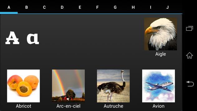 ABC Book - French apk screenshot