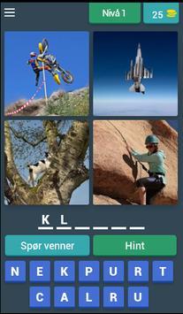 Finn Word - 4 bilder 1 ord poster