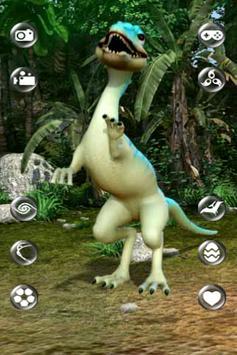 Talking Compsognathus Dinosaur apk screenshot