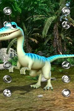 Talking Compsognathus Dinosaur poster