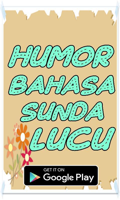 Humor Bahasa Sunda Lucu For Android Apk Download
