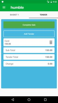 humble Till Point of Sale apk screenshot