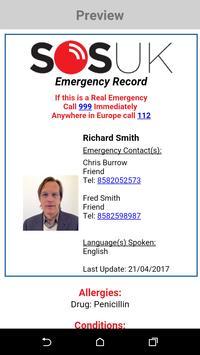 SOS UK screenshot 4