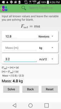 physics solver apk education app for android physics solver apk screenshot