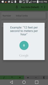 Fast Unit Converter screenshot 3