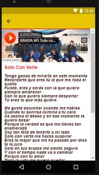 BANDA MS - TENGO QUE COLGAR apk screenshot