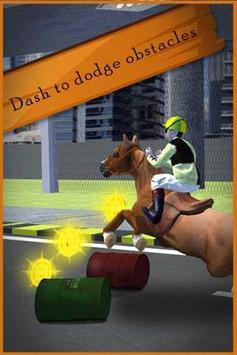 Traffic Horse Racing poster