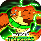 Ultimate Humungosaur Alien Ben Transform👽 icon