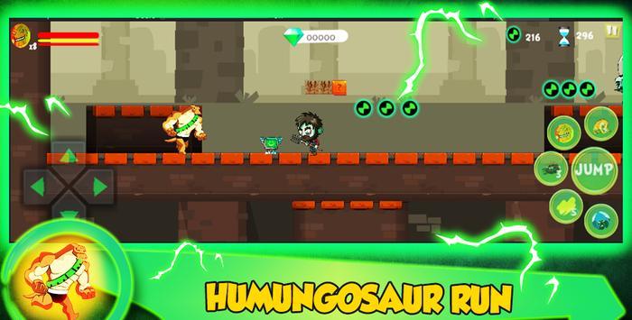 Ultimate Humungosaur Alien Ben Transform👽 screenshot 8