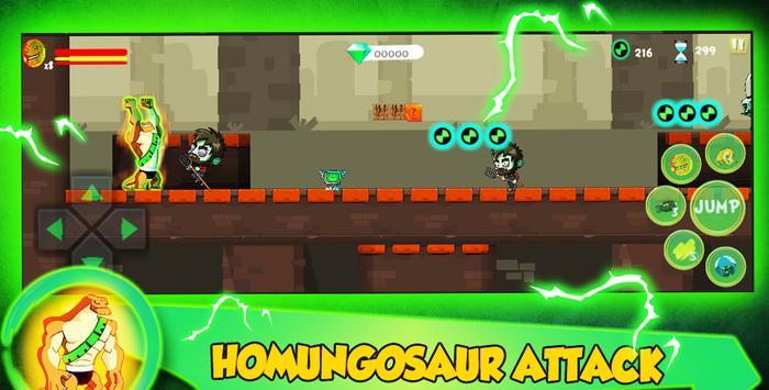 Ultimate Humungosaur Alien Ben Transform👽 screenshot 9