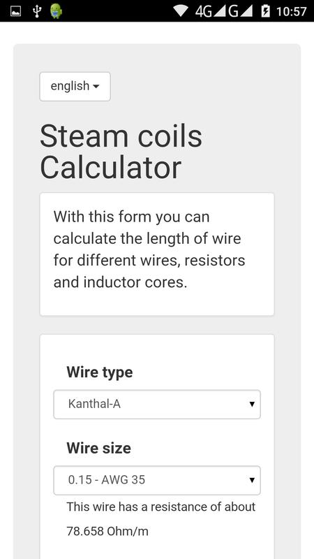 Steam coils calculator apk download free tools app for android steam coils calculator poster steam coils calculator apk greentooth Gallery