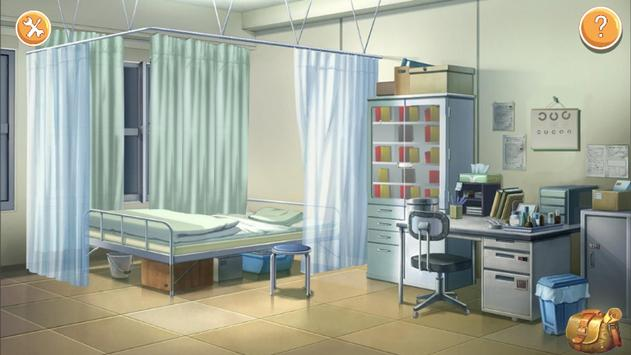 School hospital escape:Secret poster