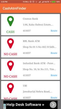 Cash No Cash Finder screenshot 2