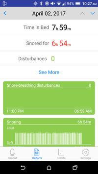 SnoreTrack screenshot 1