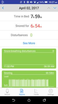SnoreTrack screenshot 3