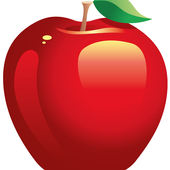 Cutting apples version 2 icon