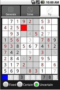 Sudoku Toolkit apk screenshot
